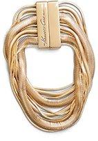 "Kenneth Cole New York Silver Multi-Chain Bracelet, 8"""