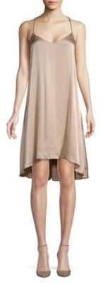 Club Monaco Briana Silk Hi-Lo Dress