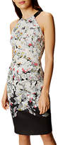 Karen Millen Oriental Pencil Dress, Multi