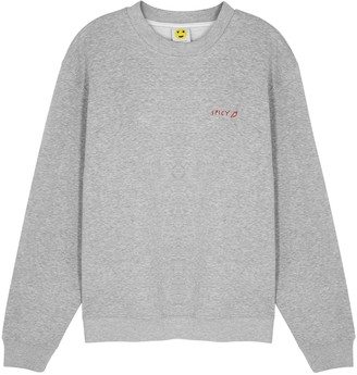 YEAH RIGHT NYC Spicy Chili Cotton-blend Sweatshirt