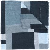 Emporio Armani - striped scarf - men - Modal - One Size