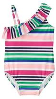 Gymboree Striped 1-Piece Swimsuit