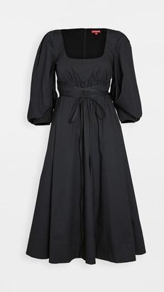 STAUD Juliette Midi Dress