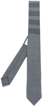 Thom Browne 4-Bar pointed tie