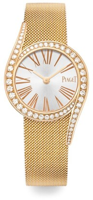 Piaget Rose Gold and Diamond Limelight Gala Watch 26mm