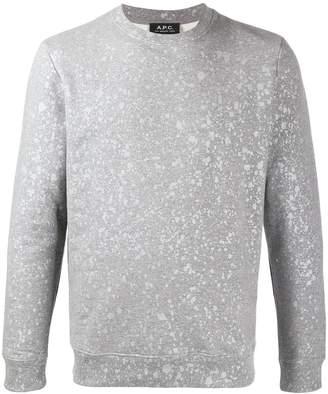 A.P.C. crew neck Spotless sweater
