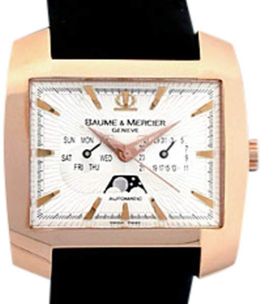 Baume & Mercier Hampton Spirit XL 18K Rose Gold 40mm Watch