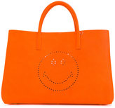 Anya Hindmarch smiley 'Ebury' tote - women - Leather - One Size