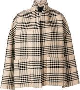 Christian Wijnants oversized checked jacket