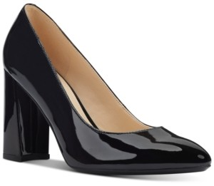 Nine West Arya Block-Heel Pumps Women's Shoes