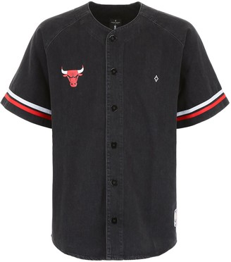 Marcelo Burlon County of Milan X NBA Chicago Bulls Baseball Shirt