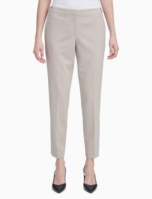 Calvin Klein Luxe Highline Ankle Suit Pants
