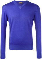 Cruciani v-neck sweater - men - Silk/Cashmere - 50