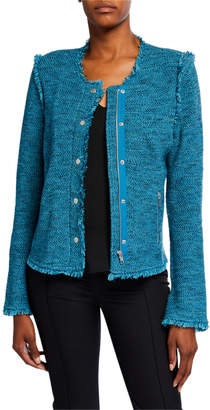 Nic+Zoe You Deserve It Fringe Detail Jacket