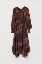 H&M Long Dress with Smocking
