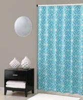 Trina Turk Trellis Shower Curtain in Turquoise