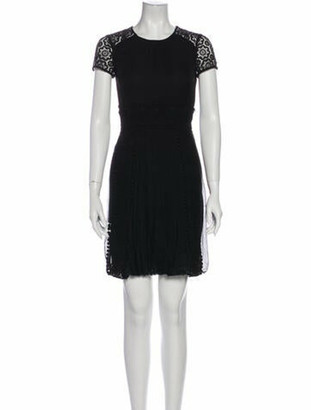 Burberry Silk Mini Dress w/ Tags Black