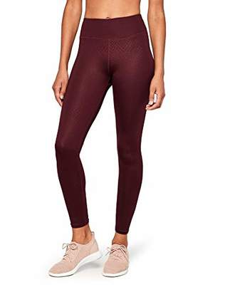 AURIQUE GTQ3_05 Sports Tights, Red Port Royale), (size: X-Large)