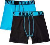 adidas 2-pk. Sport Performance Boxer Briefs - Boys 6-20