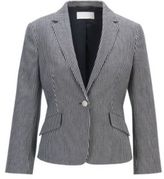 Regular-fit tailored jacket in