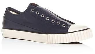 John Varvatos Bootleg Men's Coated Linen Slip-On Sneakers