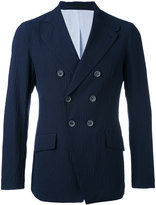 Giorgio Armani double breasted blazer - men - Cotton/Polyamide/Spandex/Elastane/Wool - 48
