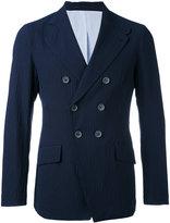 Giorgio Armani double breasted blazer - men - Cotton/Polyamide/Spandex/Elastane/Wool - 50