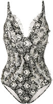 Zimmermann Divinity ruffle swimsuit