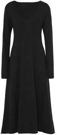 Alexander Wang Fluted Wool Midi Dress