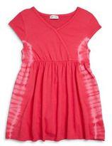 Splendid Toddler Girl's Tie-Dye Knit Dress
