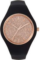 Ice Watch Ice Glitter - Black Rose-Gold - Small