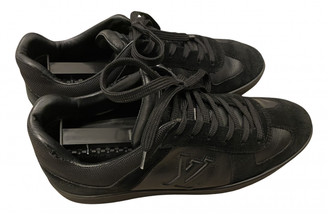 Louis Vuitton OffShore Black Leather Trainers