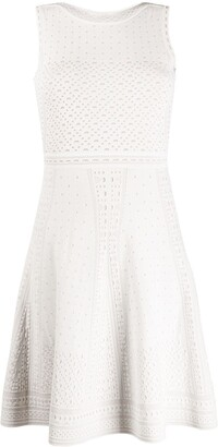 Paule Ka Knitted Swing Dress