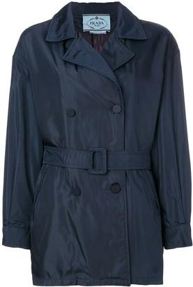Prada Pre-Owned short trench coat
