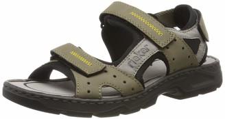 Rieker Men's 26157-25 Closed Toe Sandals