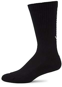 Balenciaga Men's Typo Tennis Socks
