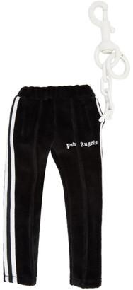 Palm Angels Black Mini Track Pants Keychain