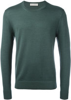 Gieves & Hawkes ribbed trim jumper