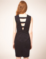 Whistles Nelly Bow Back Dress