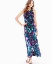 Soma Intimates Woven Halter Maxi Dress Sensational Navy RG