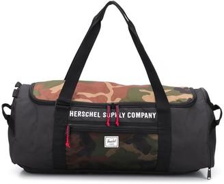 Herschel Camouflage-Print Duffle Bag