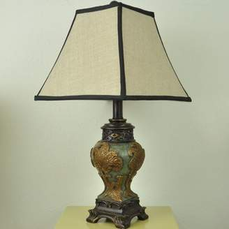 "Astoria Grand Kyler Vintage Asian Style 21"" Table Lamp Astoria Grand"