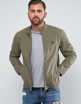 Pretty Green Harrington Jacket in Khaki