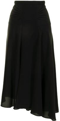 No.21 Asymmetric High-Waisted Skirt
