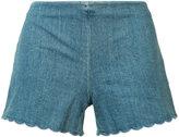 Alice + Olivia Alice+Olivia - denim shorts - women - Cotton/Spandex/Elastane - 2