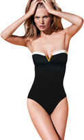 Vince Camuto Gold Coast Bandeau Maillot