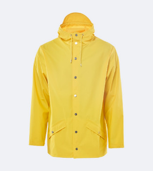 Rains Jacket 1201 Yellow - XXS/XS - Yellow