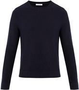 Boglioli Elbow-patch crew-neck wool sweater
