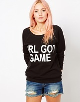 Shackled Girl Got Game Sweat Top