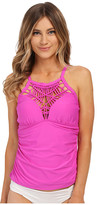 Athena Cabana Solids High Neck Tankini Top